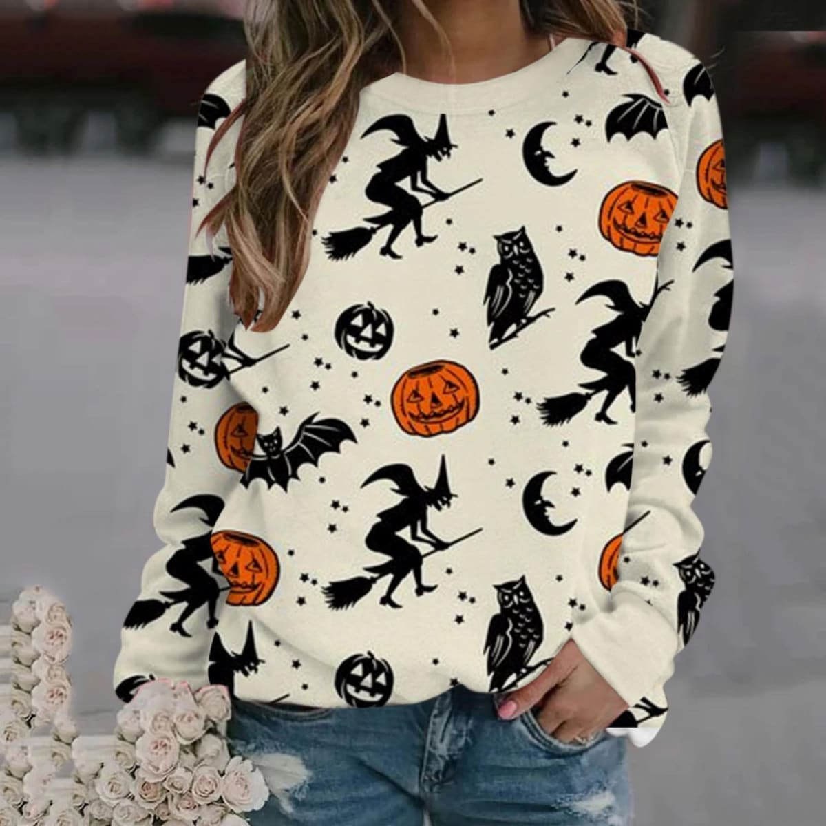 .99 Women Halloween Sweater Pullovers + Free shipping at Jane!