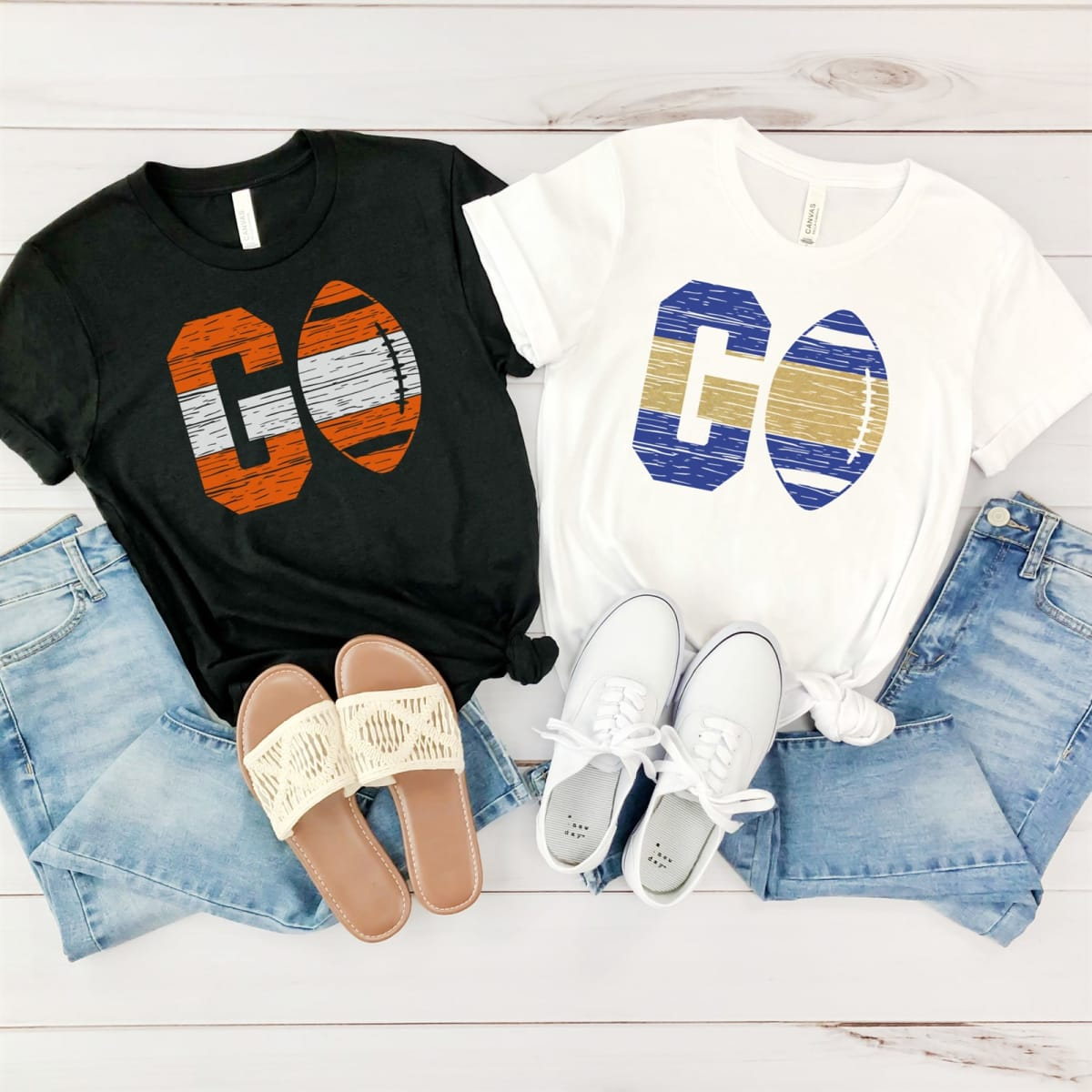 Football Team Colors Graphic Tee! .99 (REG .00) + Free Shipping at Jane!