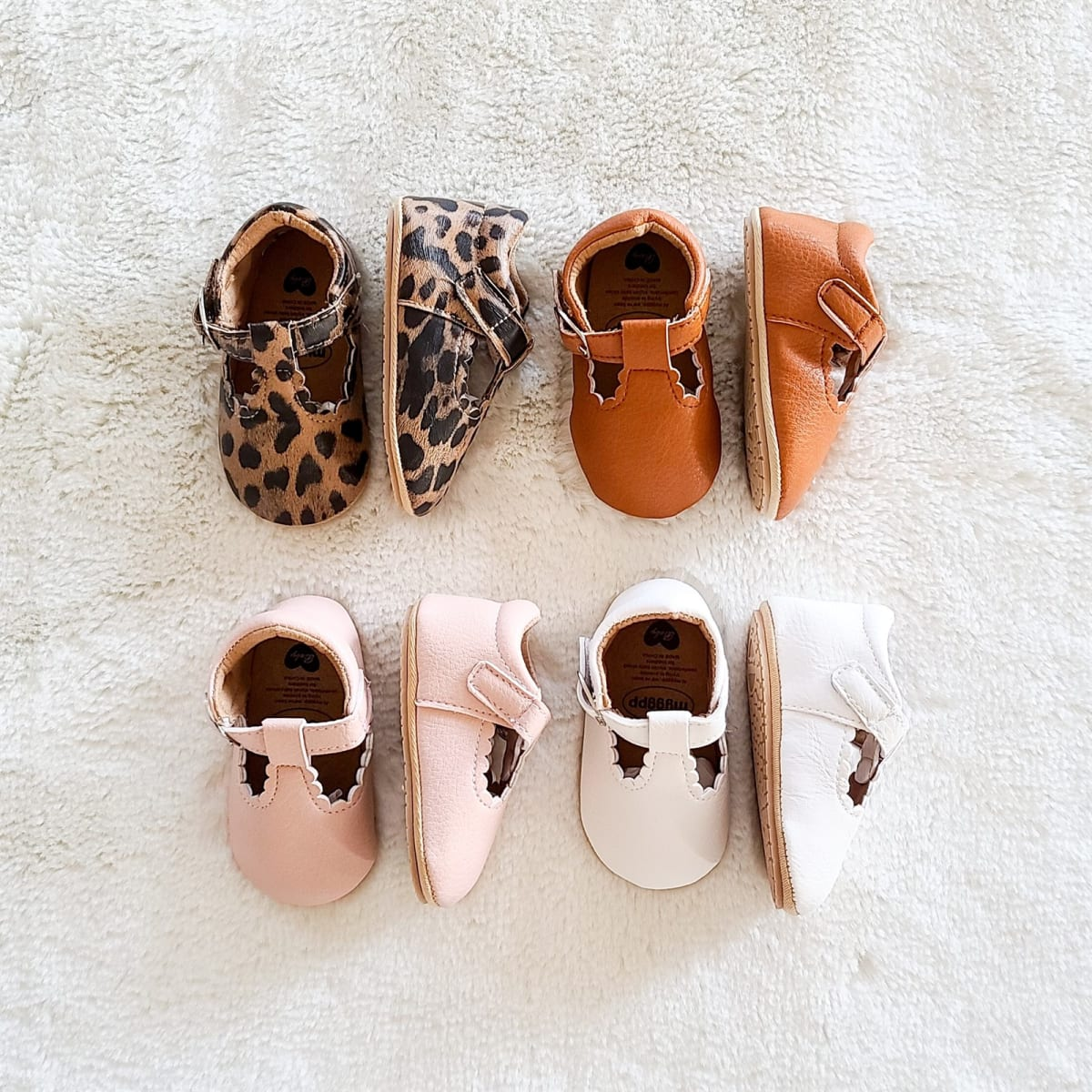 Baby Girl Leather Hard Sole Shoes! .99 (REG .99) + Free Shipping at Jane!