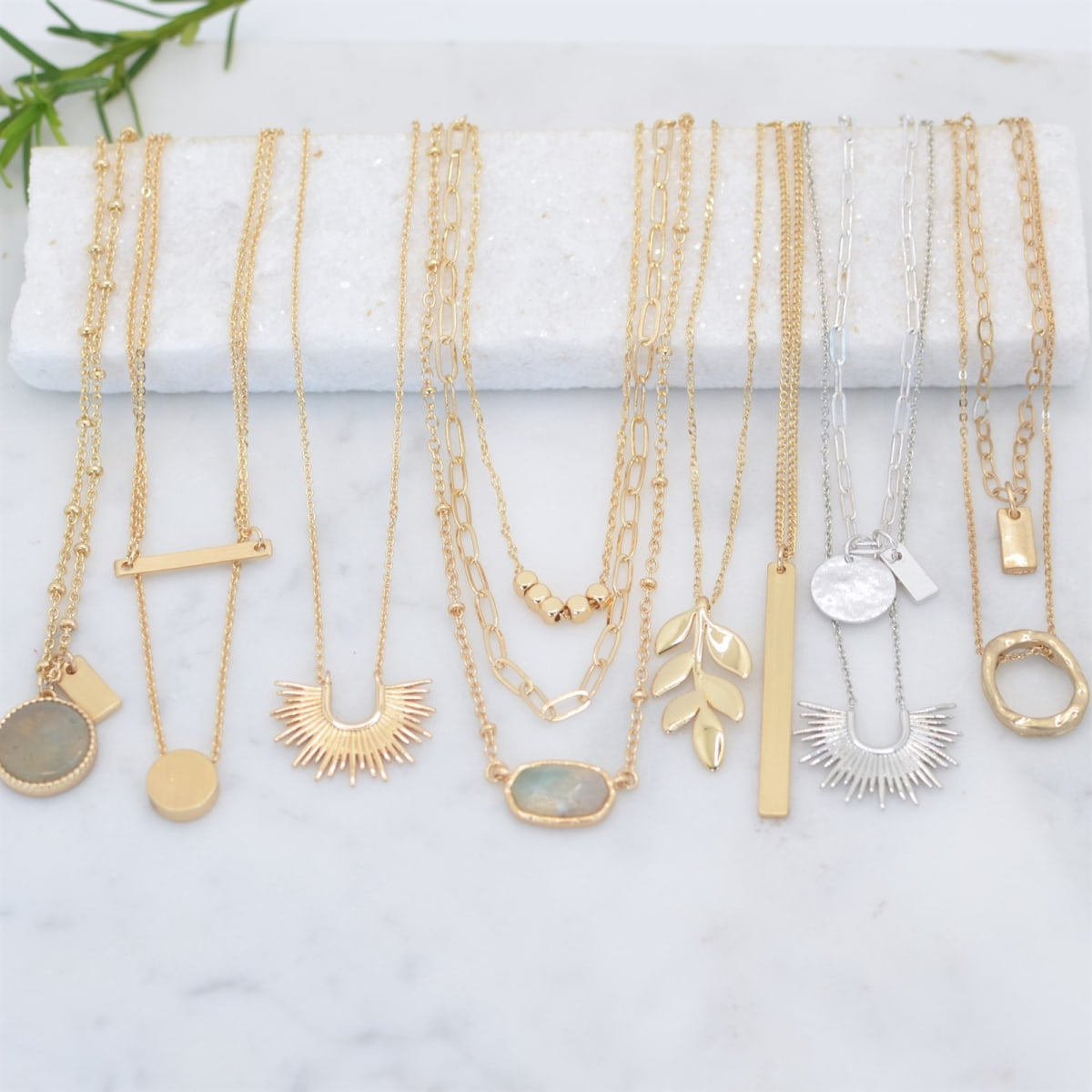 .99 Eye Catching Essentail Necklaces + Free shipping at Jane!