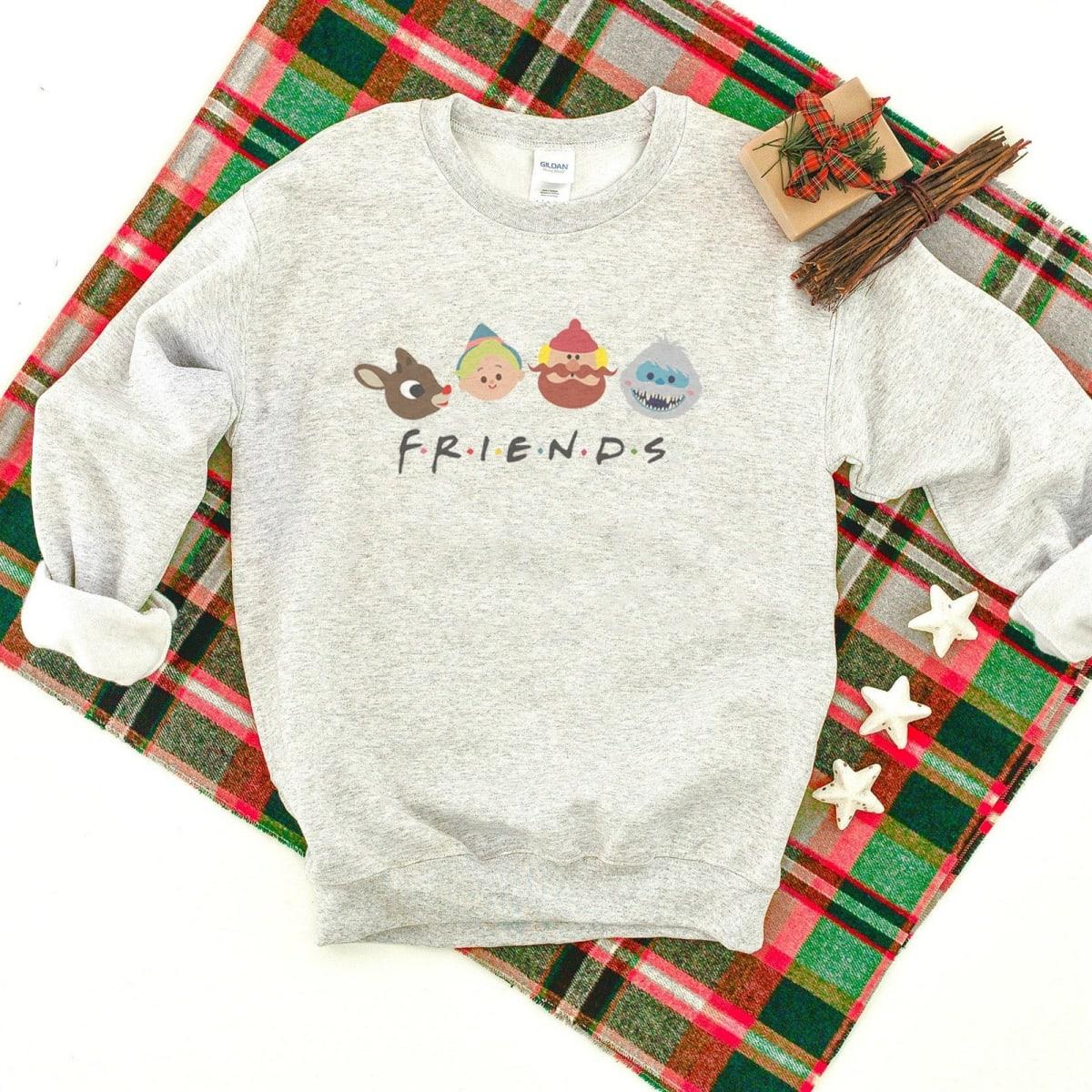 Vintage Christmas Character Sweatshirt
