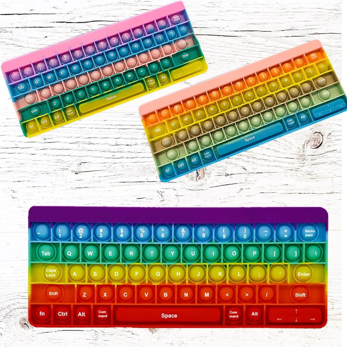 Lucas & Zoe Keyboard Bubble Fidget