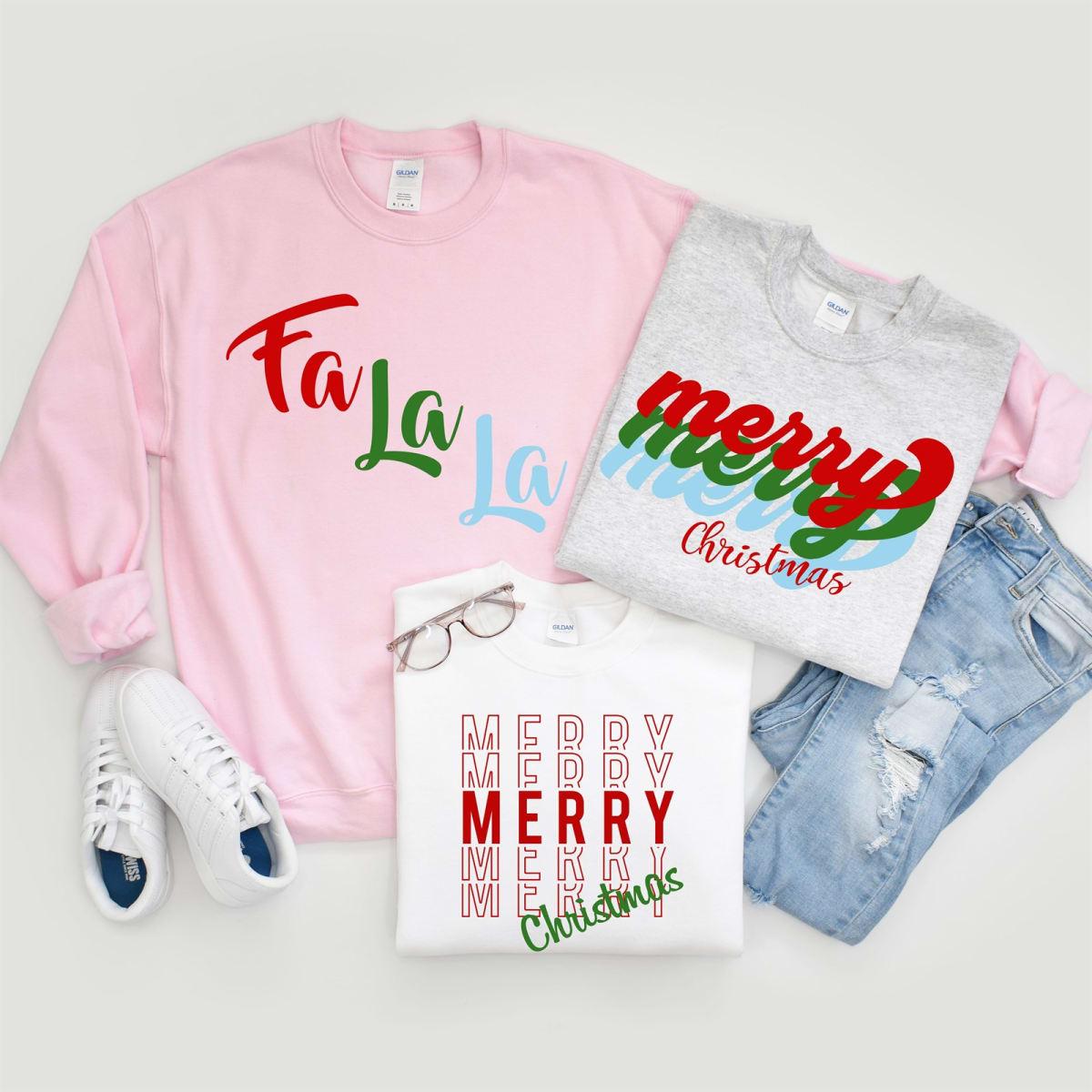 Fa La La Sweatshirts