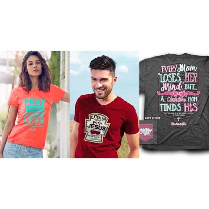 52ce3020 Kerusso Adult Christian T-Shirts | New Designs! | Jane