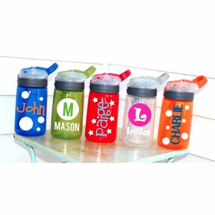 Personalized Kids Contigo Water Bottles