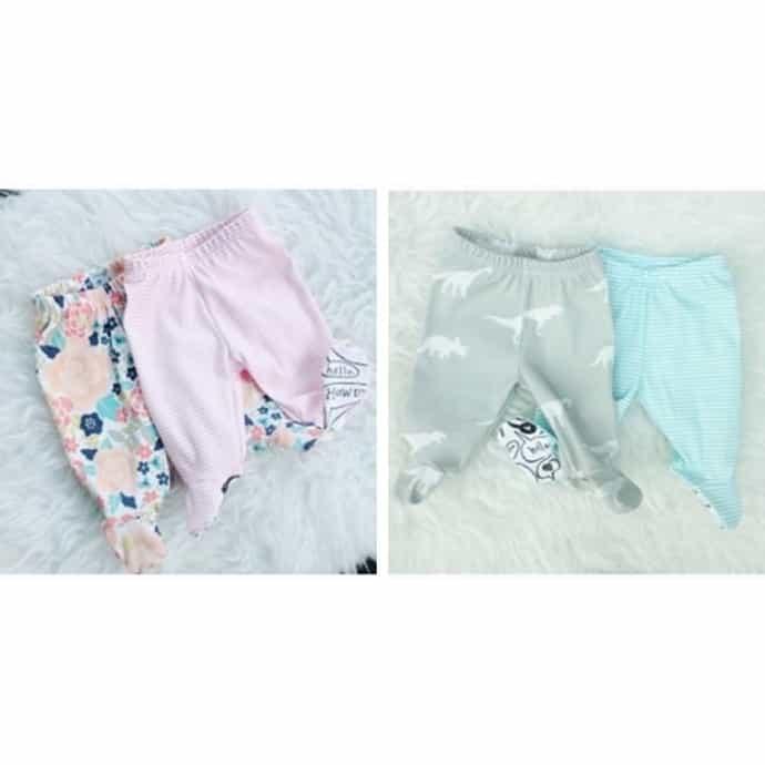 759169d06fe83 Newborn Footed Baby Leggings | Organic Cotton | Jane