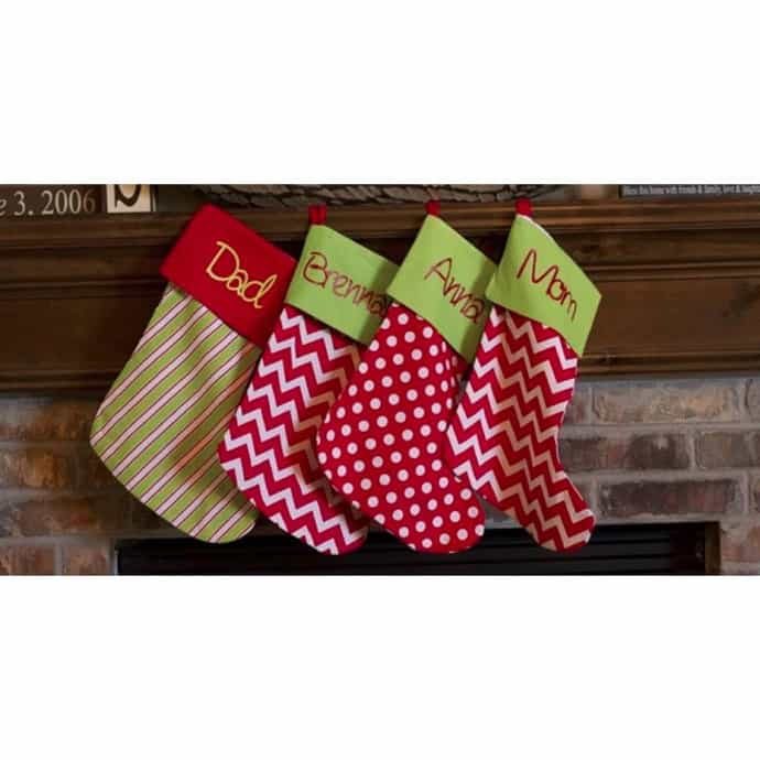 Personalized Christmas Stockings Christmas In July Sale
