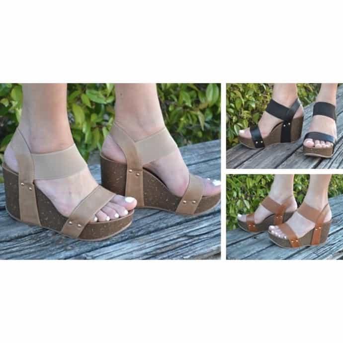 6ffad5126 Mata Strappy Cork Platform Wedge Sandal | Jane
