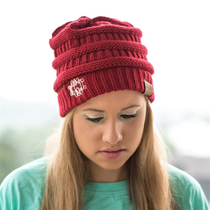 95ade9f751a Monogram CC Beanies | 12 Colors