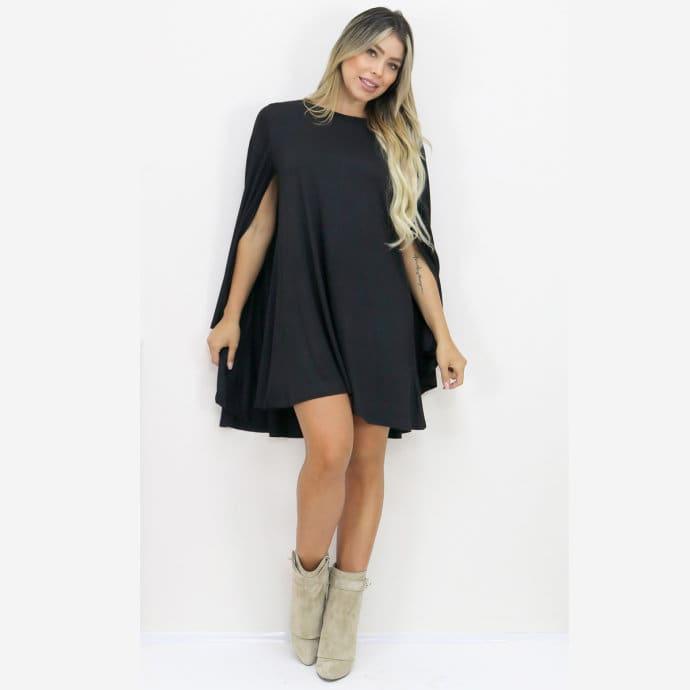 3df8f4083b Sassy Cape Dress | Free Shipping