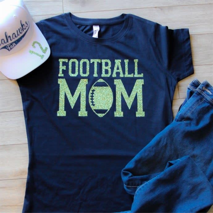 Personalized Sports Mom Shirts
