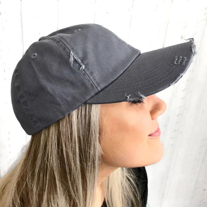 d62f700d Distressed Baseball Caps | Jane