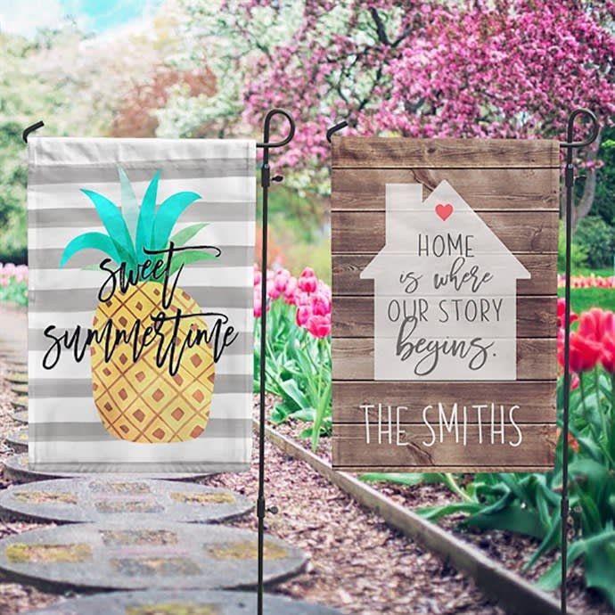 Personalized Garden Flags New Designs