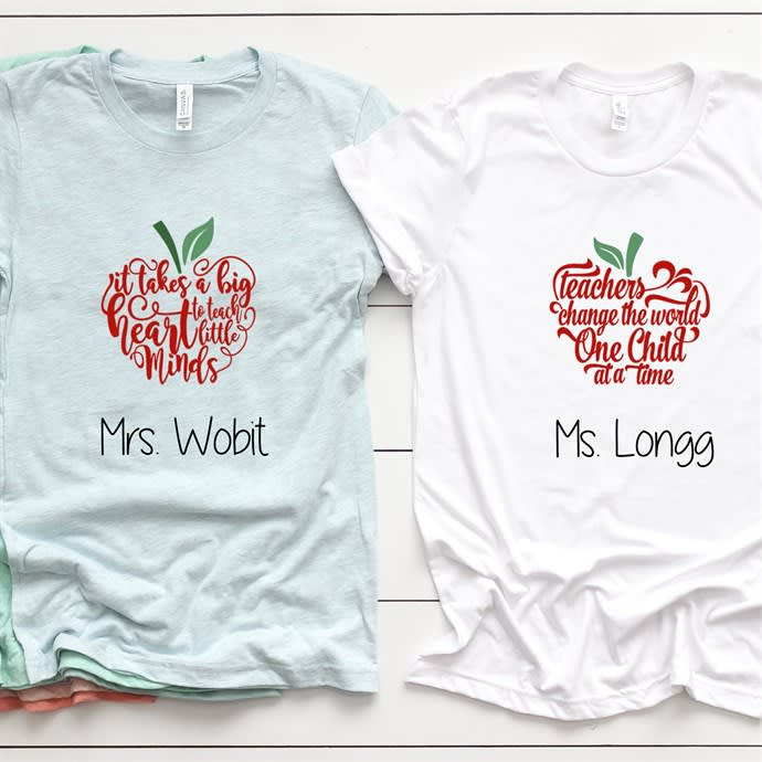 Personalized Teacher Shirts