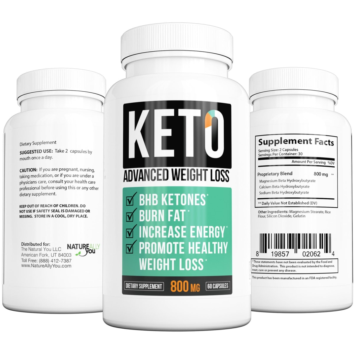 Keto Advanced Weight Loss Supplement