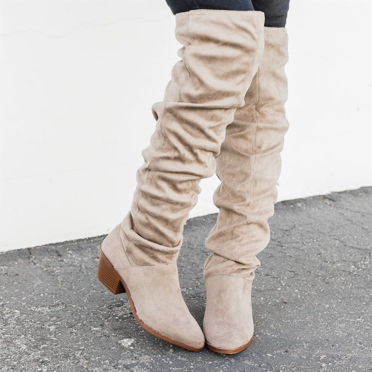733e50a53e3 51%You save. 0 00 00Time Left. Expired. Fall Knee-High Slouchy Boots