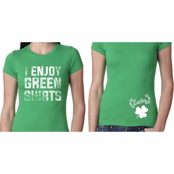 ade9d6e8e Go Green with Womens St. Patrick s Day Shirts!