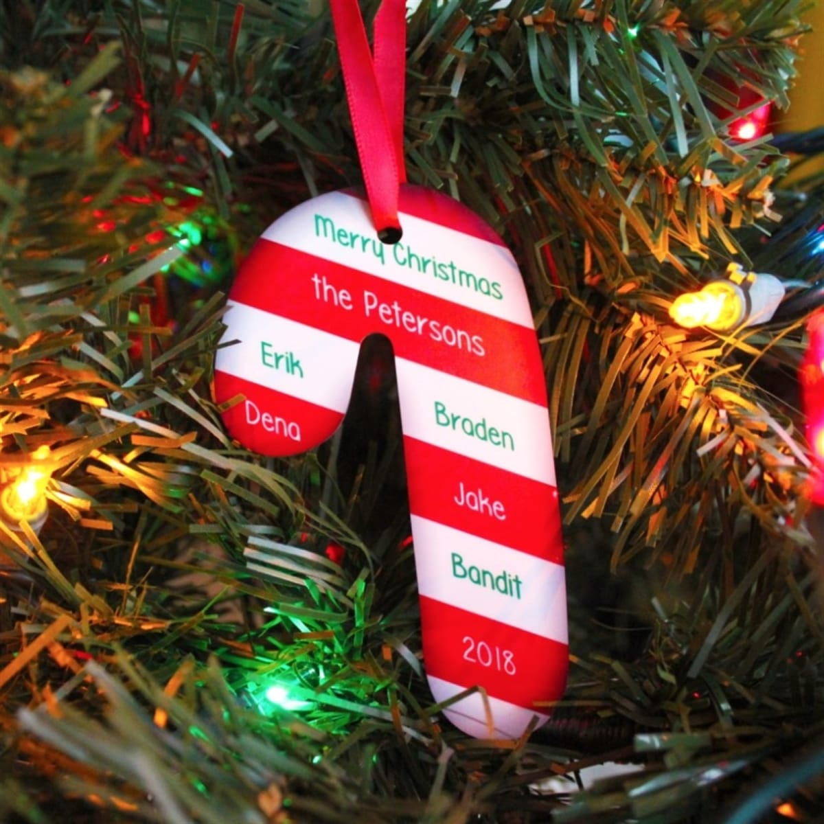Personalized Xmas Ornaments Free Shipping Jane