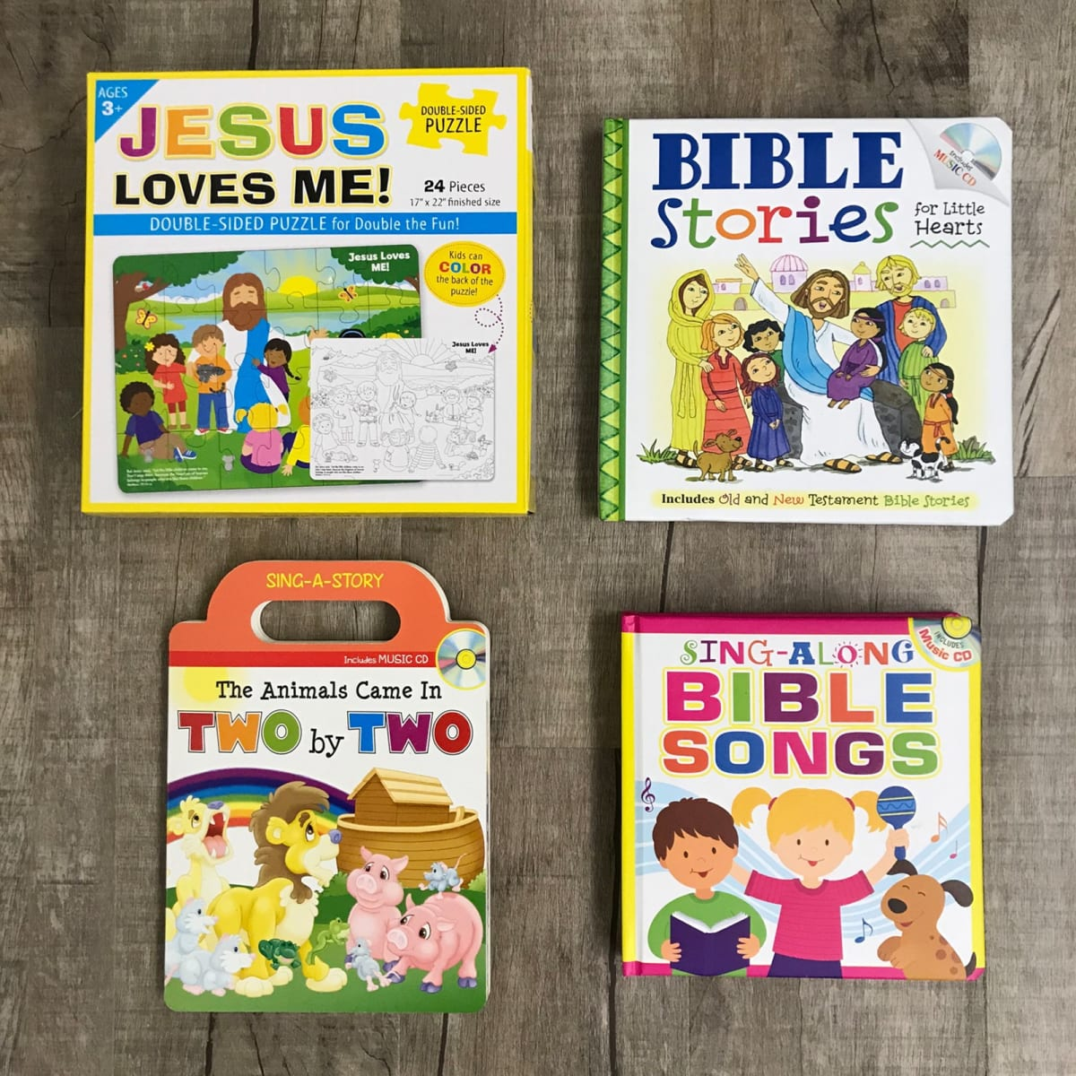 Colorful, Unique Bible Story Products