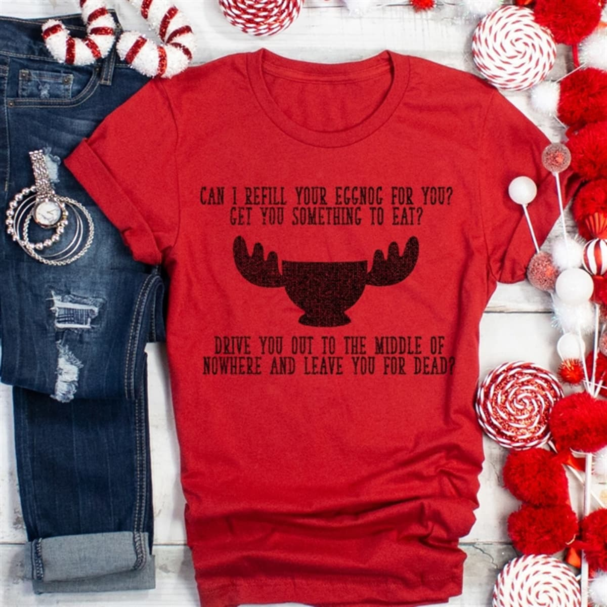7d3b4397 Funny Family Christmas Tee | Free Shipping | Jane