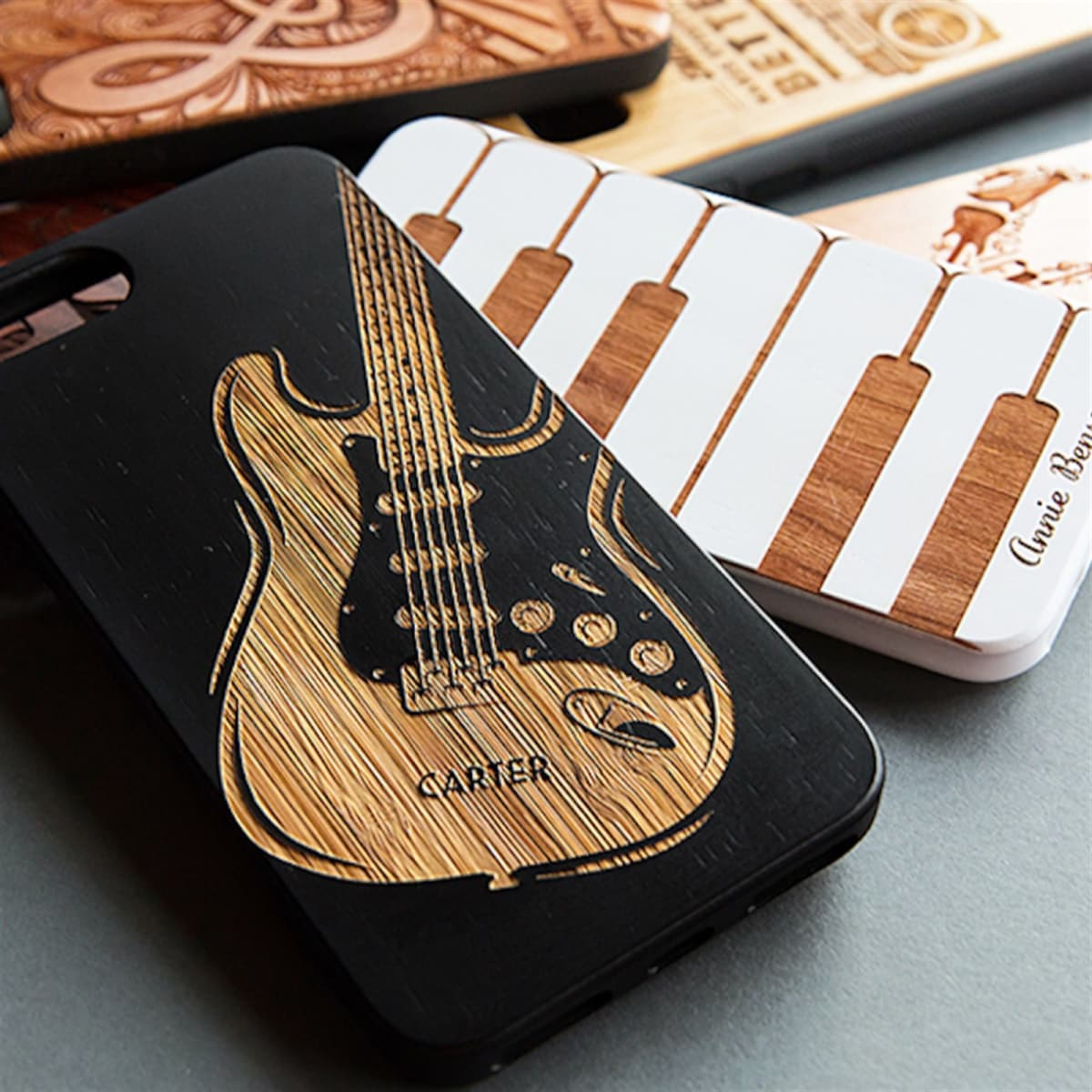 brand new 3905b 64075 Personalized Wooden Phone Case   Free Shipping