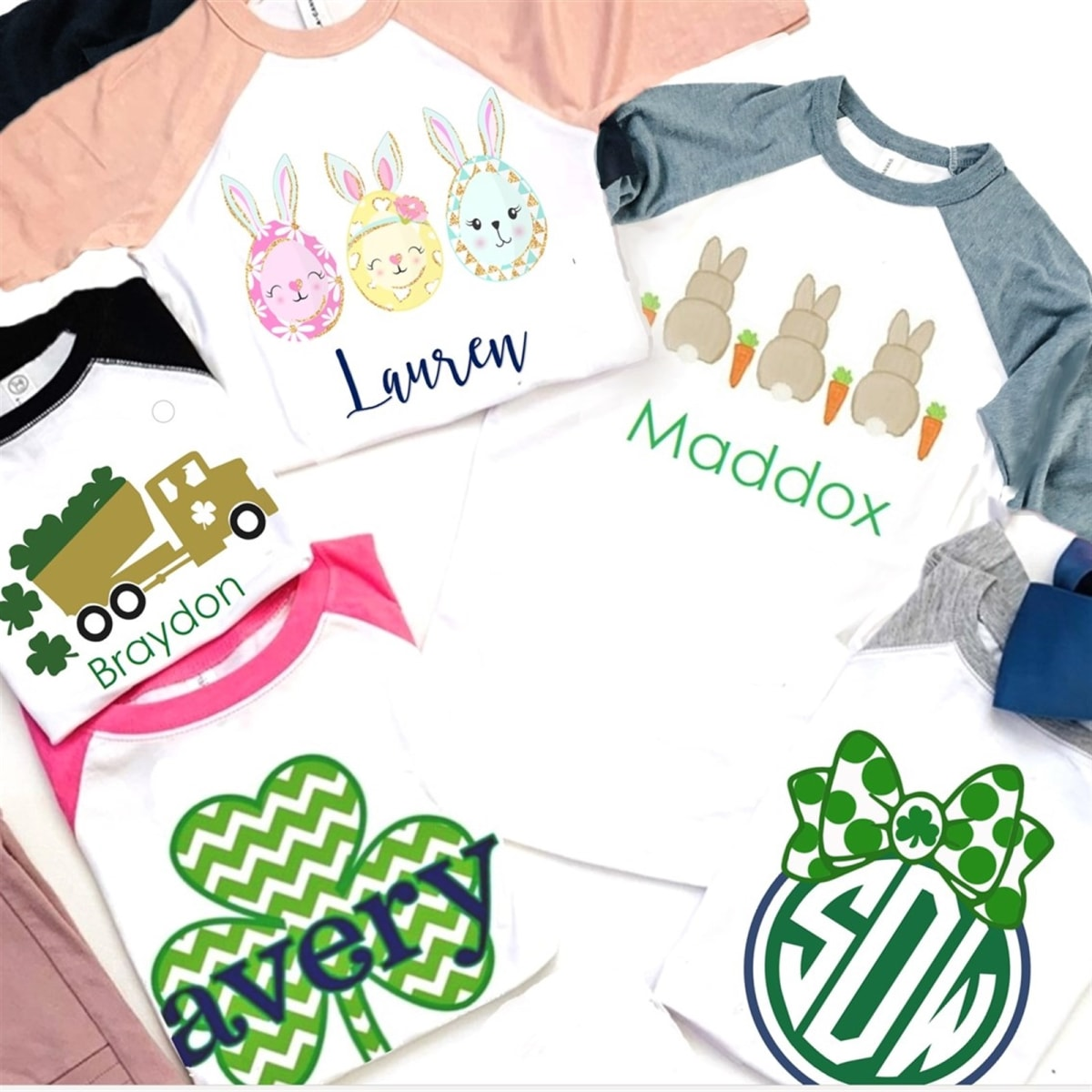 dfe38fd15f37 Personalized St. Patrick's & Easter Tees | Jane