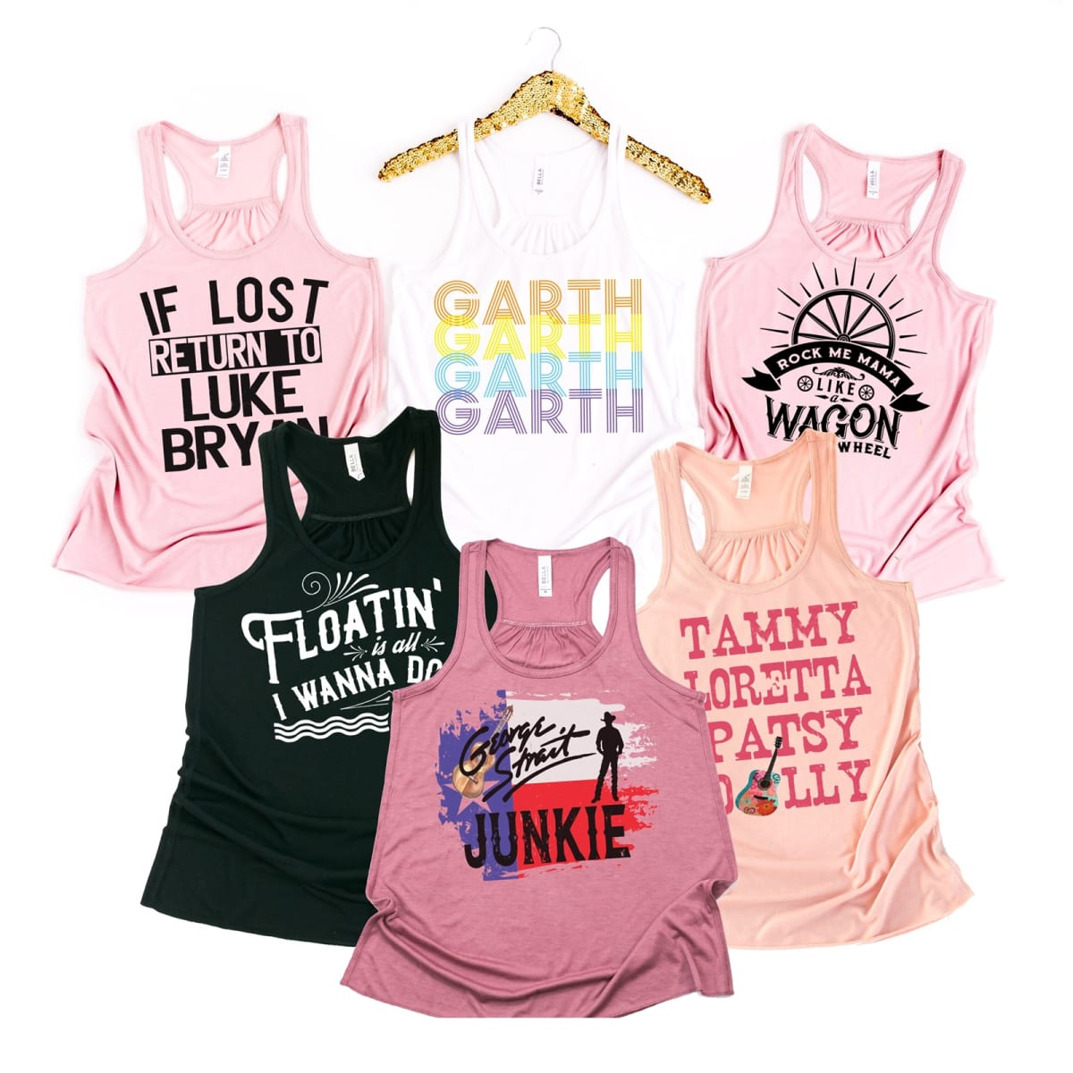 4a5278f1 Country Music Tanks | 28 Designs | Jane