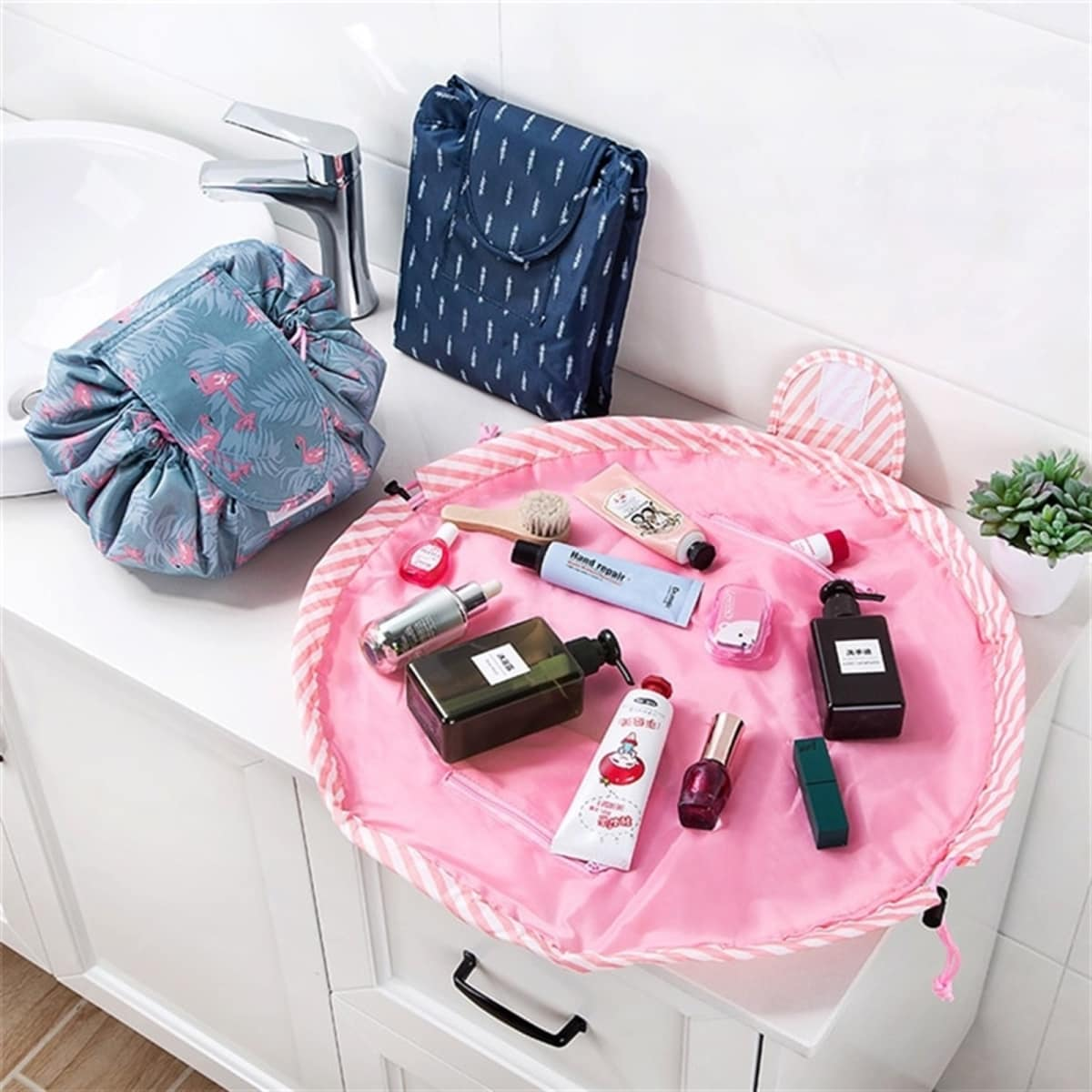 Travel Makeup Pouch | 2 Styles