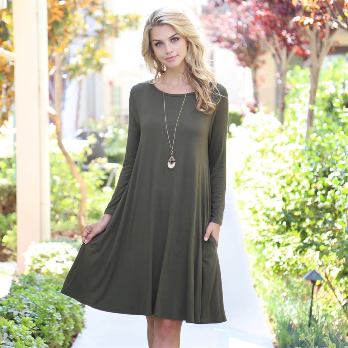 d74f02975293a Favorite Pocket Dress Blowout   M-3X   Jane