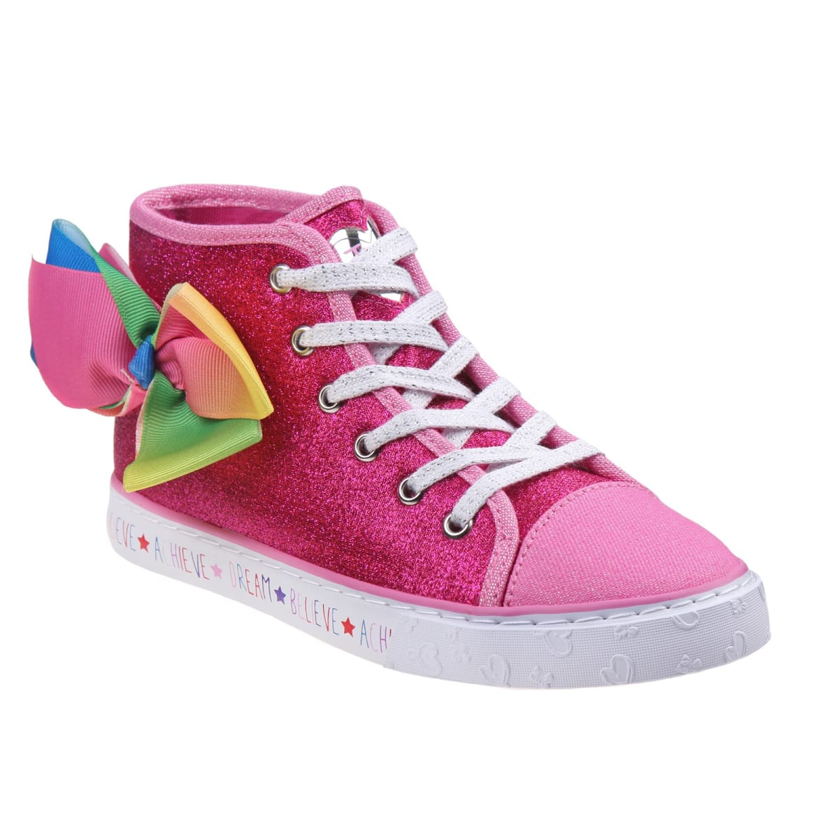outlet store 60e97 750ac Jojo Siwa High Top Girls Sneakers   Free Shipping   Jane
