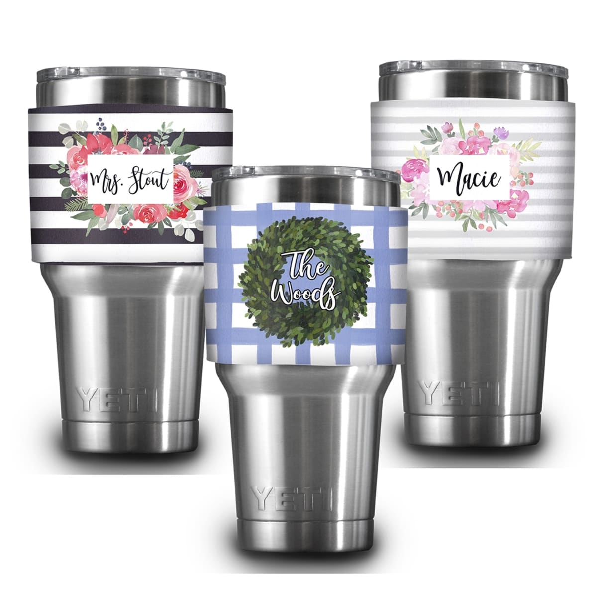 Personalized Yeti Sleeve New Designs