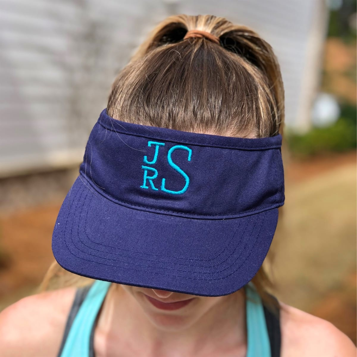 Personalized Colorful Visors Jane