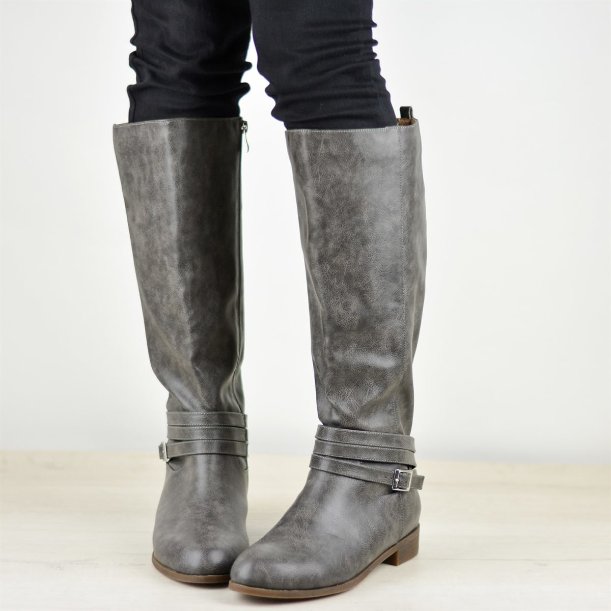 e15ec9ee952 Comfort Sole Strap Riding Boot