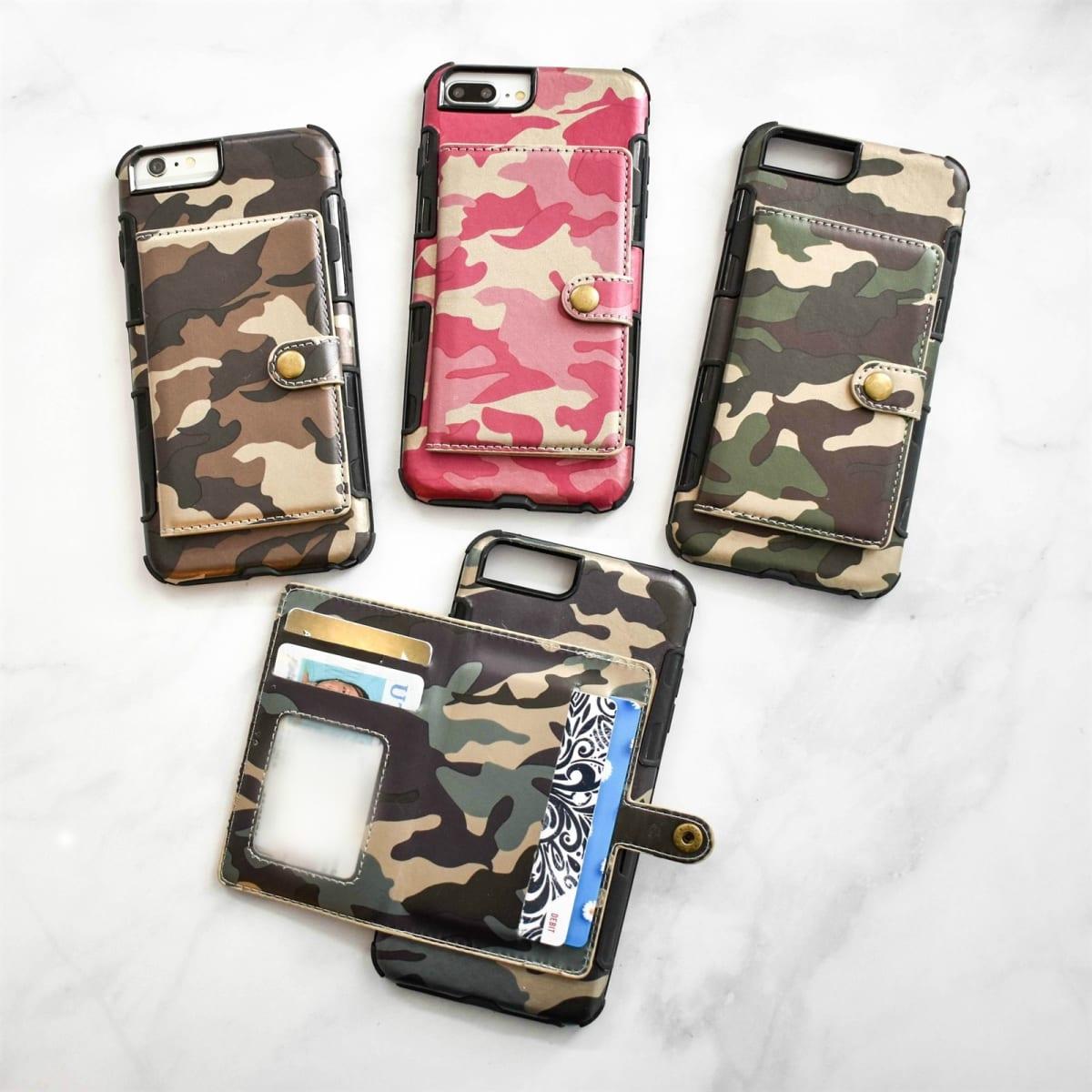 sale retailer 0941a 01ca6 Camo Wallet Phone Case Blowout | Jane