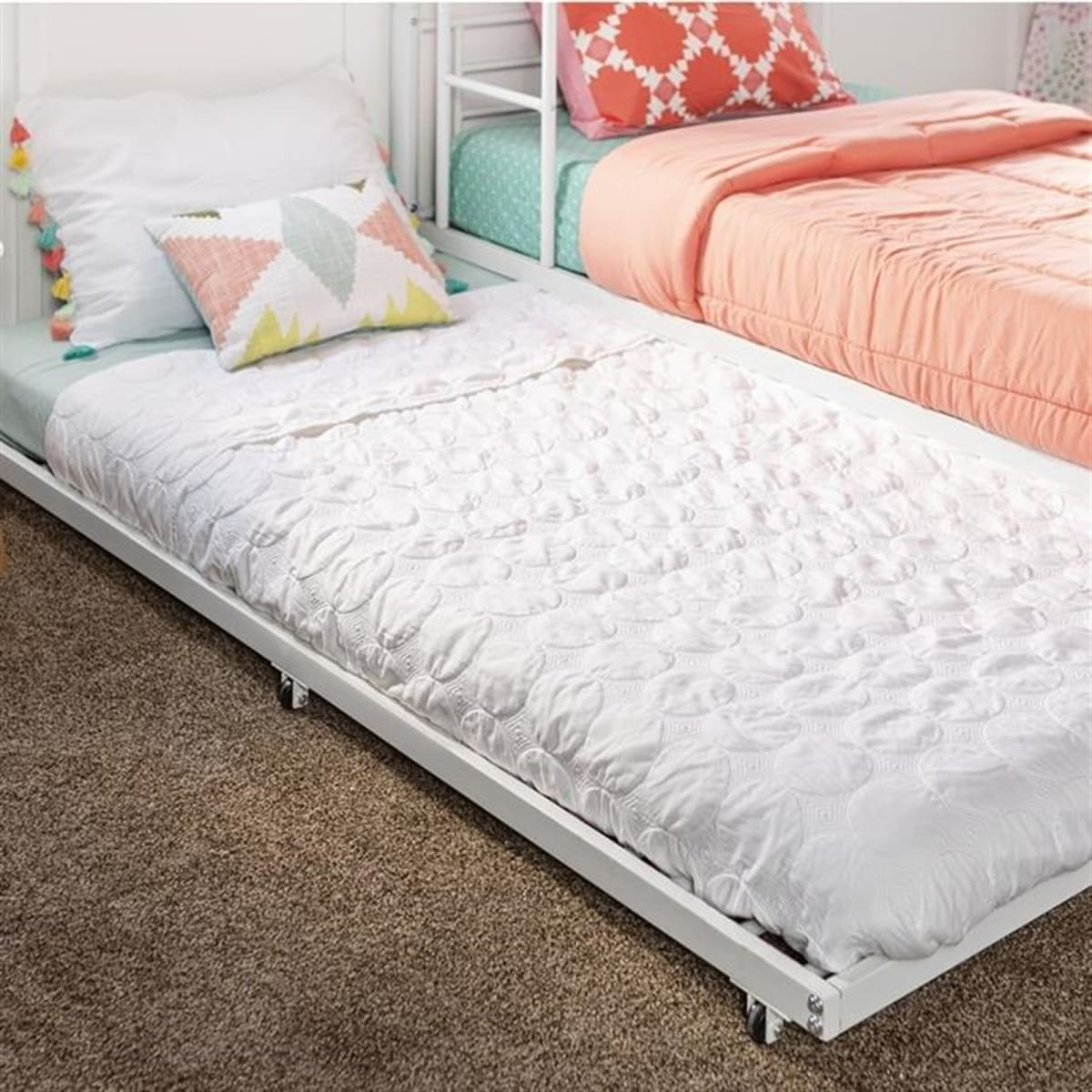 Twin Roll Out Trundle Bed Frame Free Shipping Jane