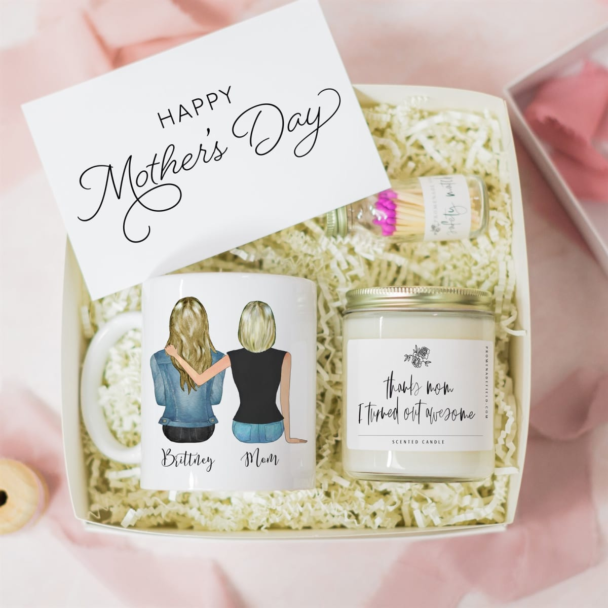 Personalized Gift Box Mother S Day Gift