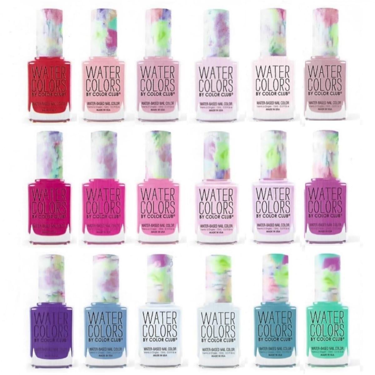 Water Colors Nail Polish| 18 Colors | Jane