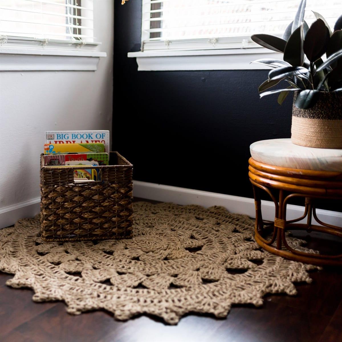 Handmade Crochet Jute Rugs