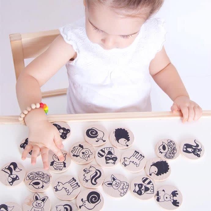 Handmade Toy Matching Game