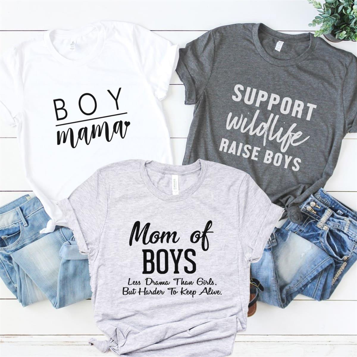 Mom Of Boys Tees