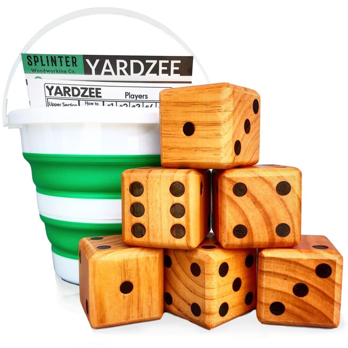 Yardzee Yard Farkle Giant Yard Dice