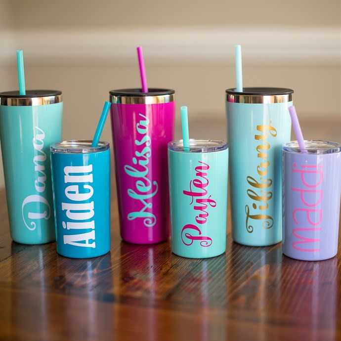 Personalized Tumbler Cups 2 Sizes