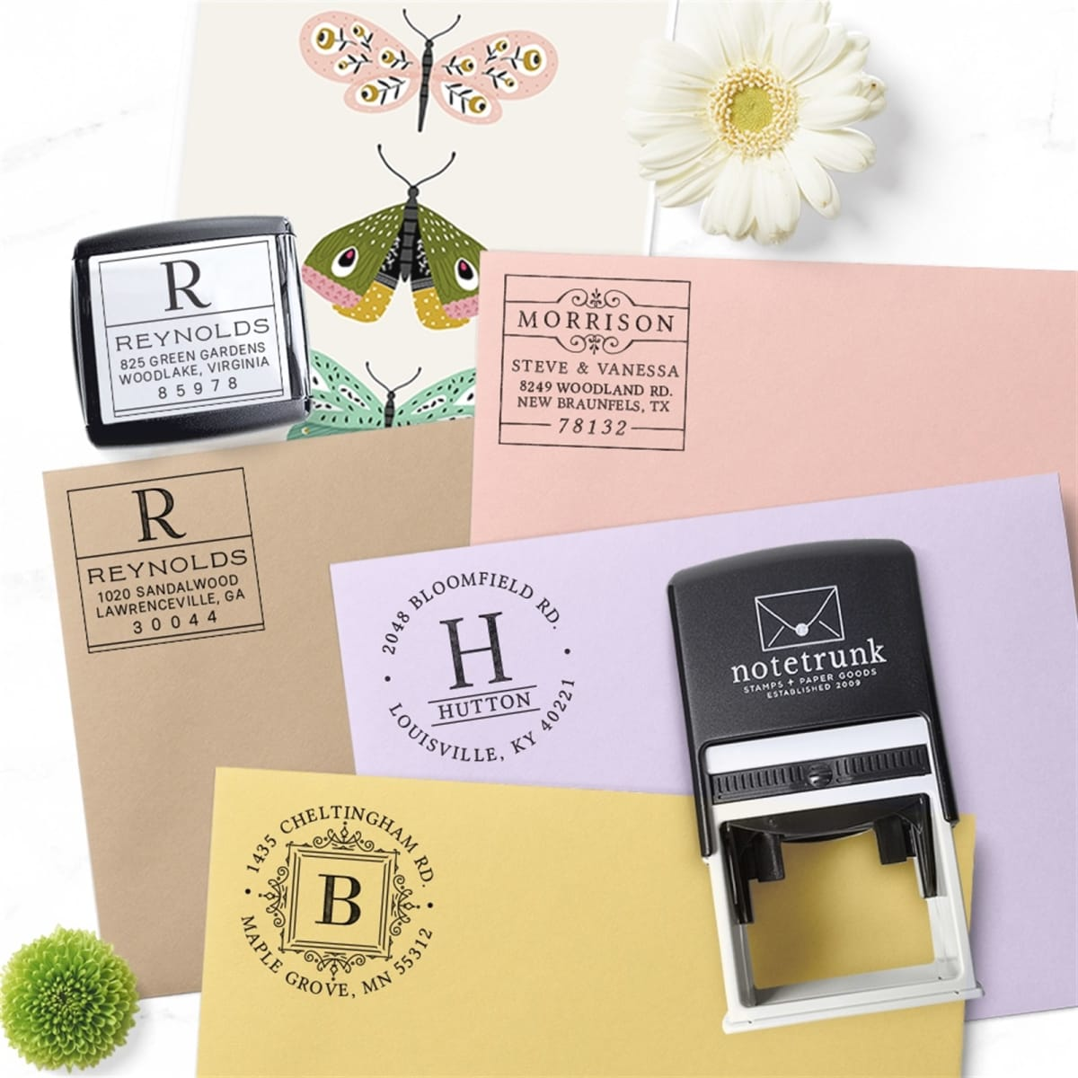 Personalized Address Stamp Self Inking