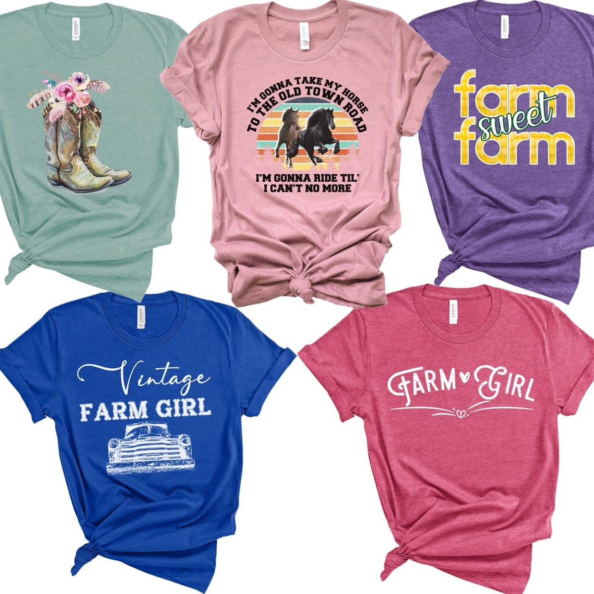 9a3d27e661c55 Farm Girl Tees