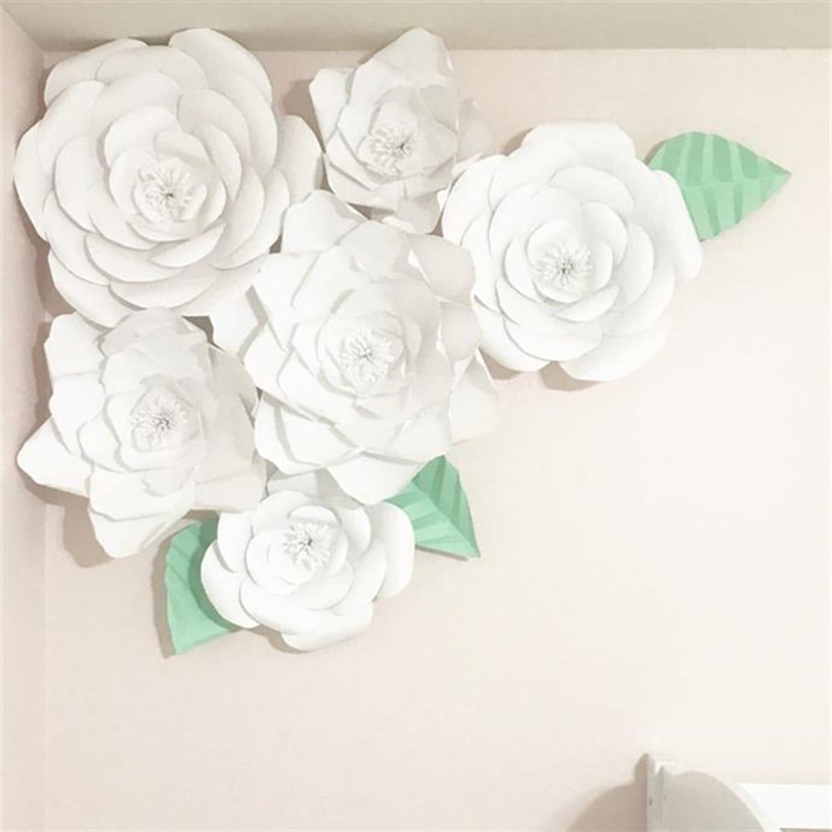 DIY Paper Flower Template