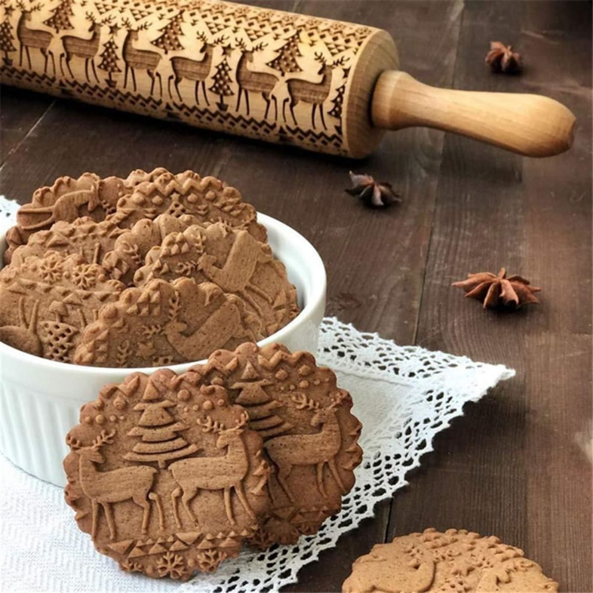 Fun Embossed Rolling Pins