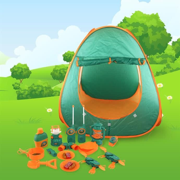 Pretend Play Camp Set with Tent | Free Shipping