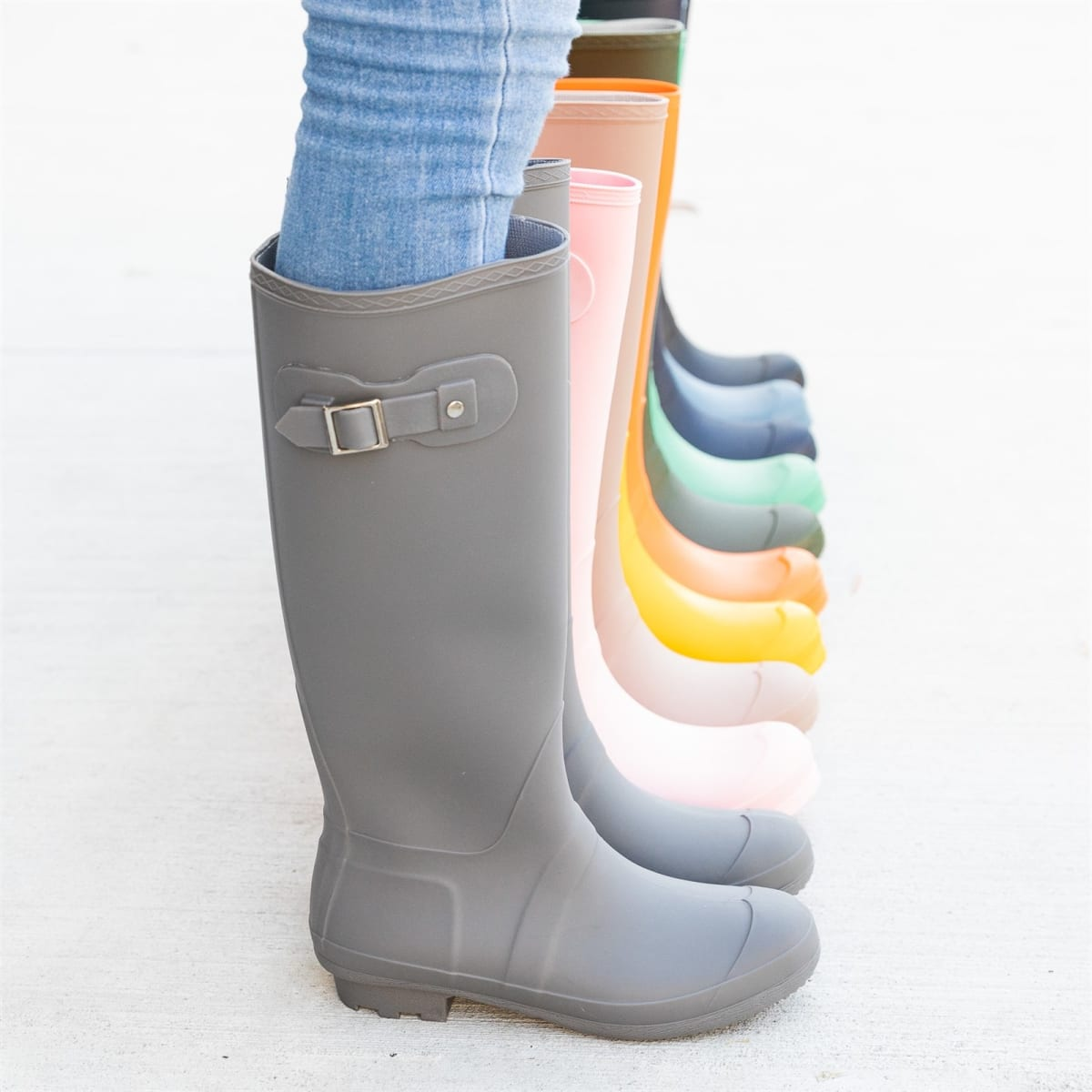 Classic Knee-High Rain Boots | 8+ Colors | Free Shipping