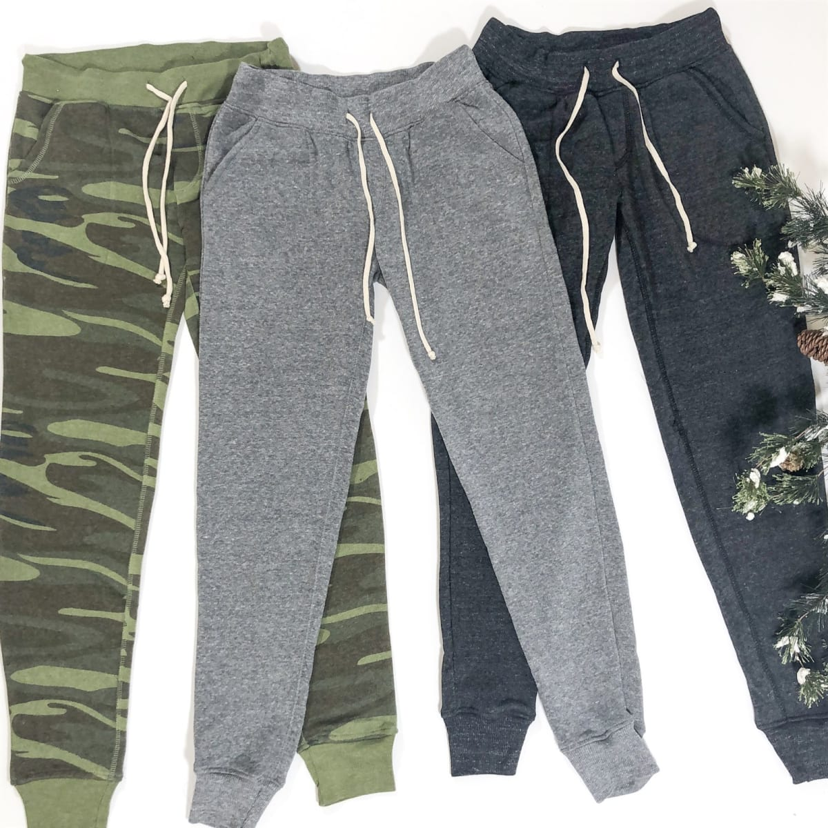 1 Women's Fleece Jogger Sweatpants
