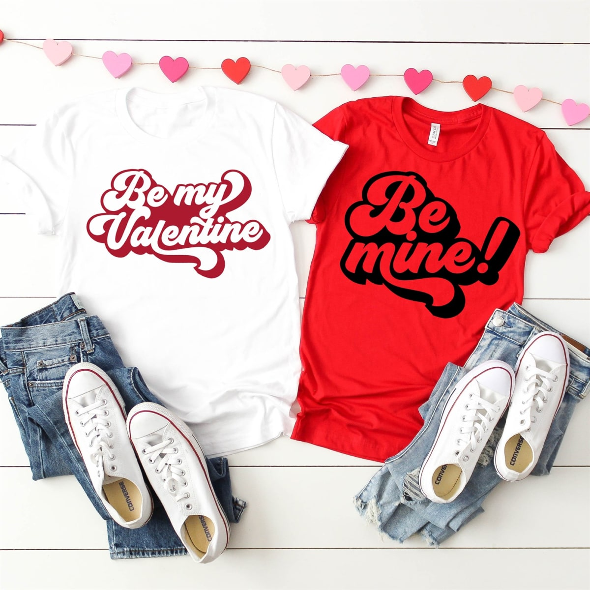 Groovy Valentine's Day Tees